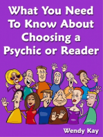What You Need to Know About Choosing a Psychic or Reader