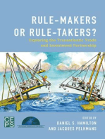 Rule-Makers or Rule-Takers?: Exploring the Transatlantic Trade and Investment Partnership