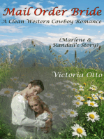 Mail Order Bride: Marlene & Randall's Story (A Clean Western Cowboy Romance)