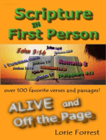 Scripture in First Person, ALIVE and Off the Page