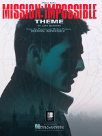Mission: Impossible Theme: Piano Solo
