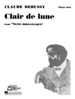 Claire de Lune: Piano Solo