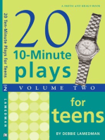 10-Minute Plays for Teens, Volume II