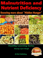 "Malnutrition and Nutrient Deficiency: Knowing more about ""Hidden Hunger"""