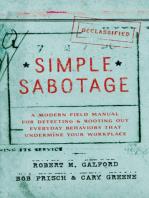 Simple Sabotage