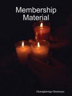 Membership Material