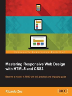 Mastering Responsive Web Design with HTML5 and CSS3