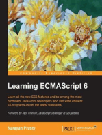 Learning ECMAScript 6
