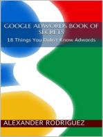 Google Adwords Book of Secrets