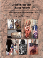 Upcycled Feed Sack Sewing Patterns