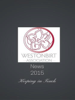Westonbirt Association News 2015