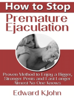 How to Stop Premature Ejaculation