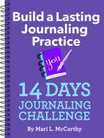Build a Lasting Journaling Practice 14 Days Journaling Challenge