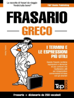 Frasario Italiano-Greco e mini dizionario da 250 vocaboli