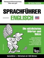Sprachführer Deutsch-Englisch und Kompaktwörterbuch mit 1500 Wörtern