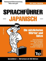 Sprachführer Deutsch-Japanisch und Mini-Wörterbuch mit 250 Wörtern