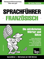 Sprachführer Deutsch-Französisch und Kompaktwörterbuch mit 1500 Wörtern