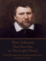 The New Inn or, The Light Heart