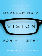 Developing a Vision for Ministry