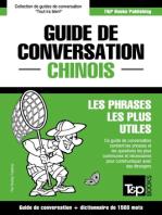 Guide de conversation Français-Chinois et dictionnaire concis de 1500 mots