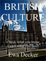 BRITISH CULTURE Check what you know Learn what you don`t