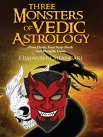 Three Monsters of Vedic Astrology: Pitra Dosh, Kaal Sarp Dosh and Manglik Dosh