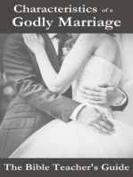 Characteristics of a Godly Marriage