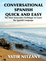 Conversational Spanish Quick and Easy