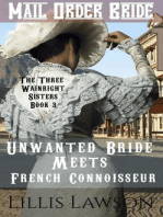 Unwanted Bride Meets French Connoisseur (The Three Wainright Sisters Looking For Love, #3)