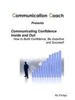 Communicating Confidence Inside and Out