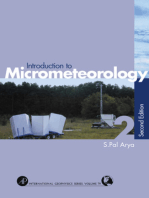 Introduction to Micrometeorology