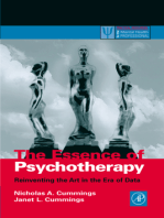 The Essence of Psychotherapy