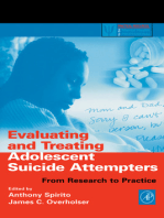 Evaluating and Treating Adolescent Suicide Attempters