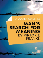 A Joosr Guide to... Man's Search For Meaning by Viktor E Frankl