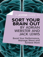 A Joosr Guide to... Sort Your Brain out by Adrian Webster and Jack Lewis