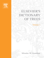 Elsevier's Dictionary of Trees: Volume 1: North America