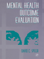 Mental Health Outcome Evaluation