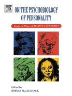 On the Psychobiology of Personality