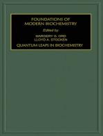 Quantum Leaps in Biochemistry