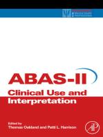 Adaptive Behavior Assessment System-II: Clinical Use and Interpretation