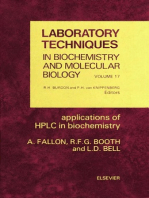 Applications of HPLC in Biochemistry