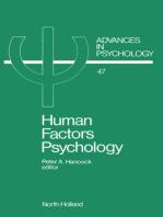 Human Factors Psychology