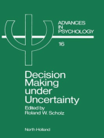 Decision Making under Uncertainty: Cognitive Decision Research, Social Interaction, Development and Epistemology
