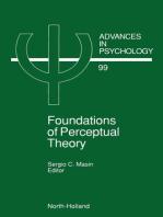 Foundations of Perceptual Theory