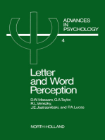 Letter and Word Perception
