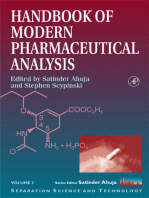 Handbook of Modern Pharmaceutical Analysis