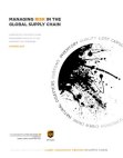Study on Risk in the Global Supply Chain