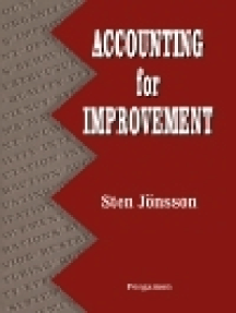 Accounting for Improvement