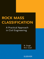 Rock Mass Classification: A Practical Approach in Civil Engineering