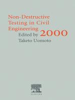 Non-Destructive Testing in Civil Engineering 2000